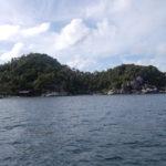 Ko Tao vom Tauchboot aus