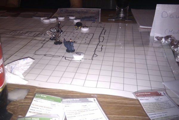 Dungeons & Dragons Spielfeld