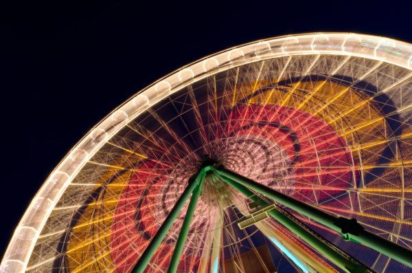 Riesenrad auf dem Kölner Frühlingsfest 2012