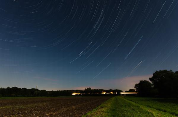 Sternenspuren ohne Perseiden