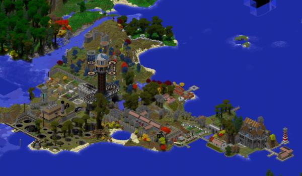 Meine Minecraft-Insel